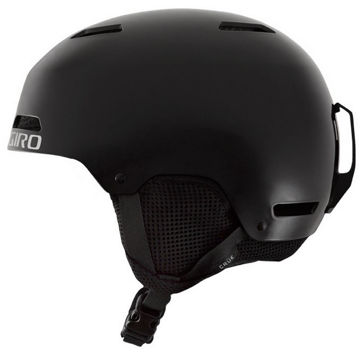 Picture of GIRO ALPINE SKI HELMET CRUE MATTE BLACK FOR JUNIORS