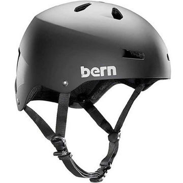Picture of BERN BIKE HELMET MACON MAT BLACK FOR MEN