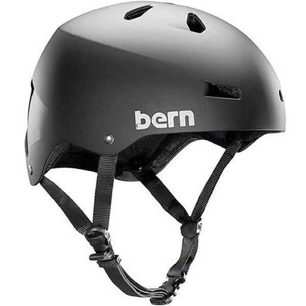 Picture of BERN BIKE HELMET MACON MAT BLACK FOR MEN