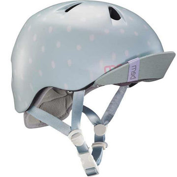 Picture of BERN BIKE HELMET NINA/VISOR BLUE SEAGLASS FOR JUNIORS