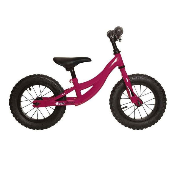 Picture of TOBA BIKE BEEP BEEP PURPLE 2018 FOR JUNIORS