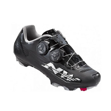 Picture of NORTHWAVE BIKE SHOES BLAZE PLUS WOMEN BLACK/SILVER FOR WOMEN