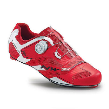 Picture of NORTHWAVE BIKE SHOES SONIC 2 CARBON RED/WHITE