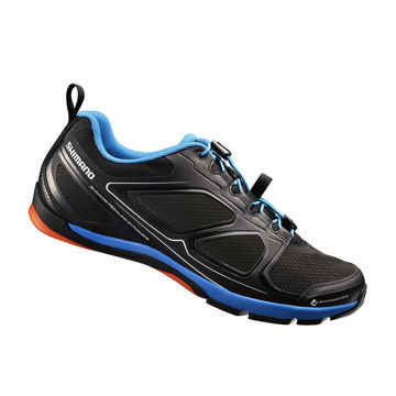 Picture of SHIMANO BIKE SHOES SH-CT71L BLACK/BLUE