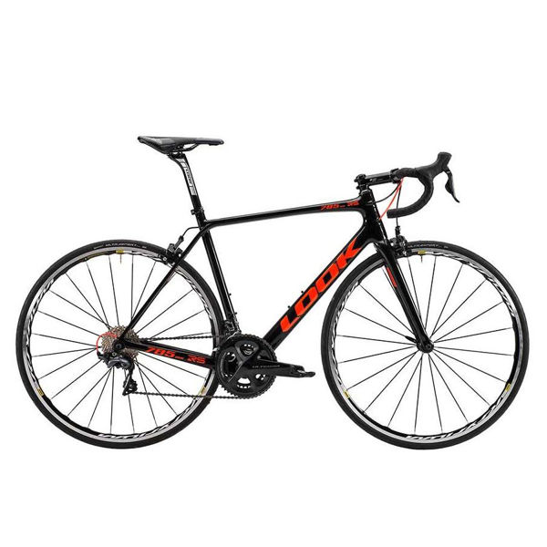Picture of LOOK ROAD BIKE 785 HUEZ RS BLACK/RED 2018