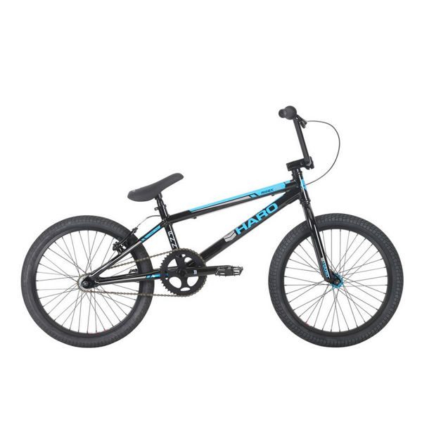 Picture of HARO BMX BIKE ANNEX PRO BLACK/BLEU 2018