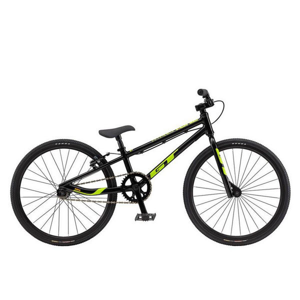 Picture of GT BMX BIKE MACH ONE MINI BLACK/YELLOW 2018 FOR JUNIORS