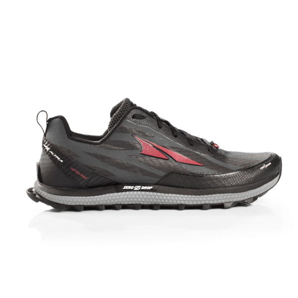 Picture of ALTRA TRAIL RUNNING SHOES SUPERIOR 3.5 BLACK/RED FOR MEN