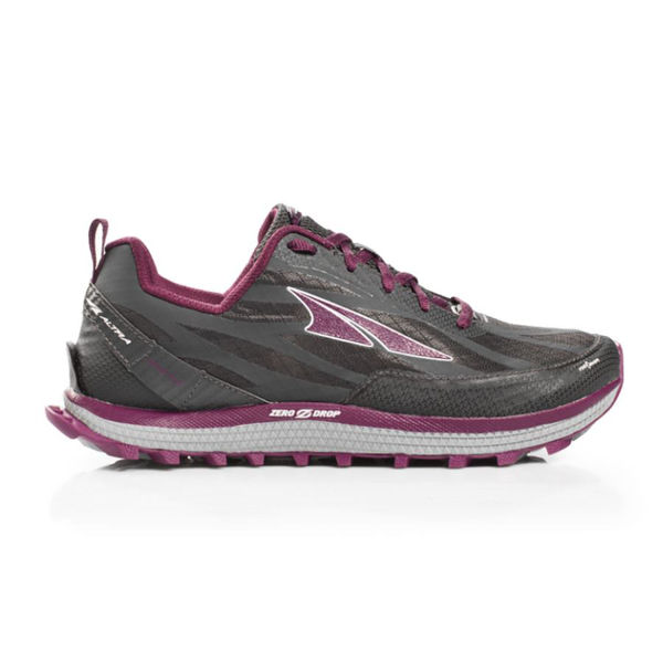 Picture of ALTRA TRAIL RUNNING SHOES SUPERIOR 3.5 GRAY/PURPLE FOR WOMEN
