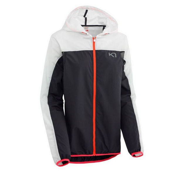 Picture of KARI TRAA RUNNING JACKET MARTE JACKET WHITE/BLACK FOR WOMEN