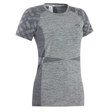 Picture of KARI TRAA RUNNING JERSEY MARIT TEE GRAY FOR WOMEN
