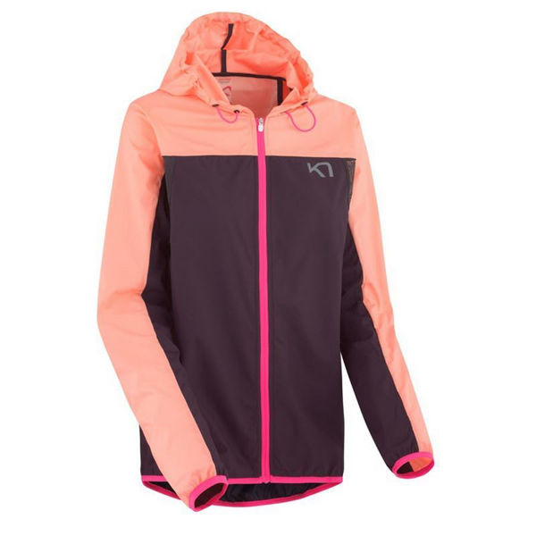 Picture of KARI TRAA RUNNING JACKET MARTE JACKET CORAL FOR WOMEN