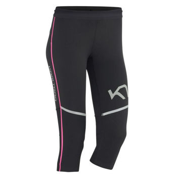 Picture of KARI TRAA LEGGING MARIKA CAPRI BLACK/PINK FOR WOMEN