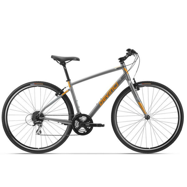 Picture of DEVINCI HYBRID BIKE ST-TROPEZ GRAY/ORANGE 2018