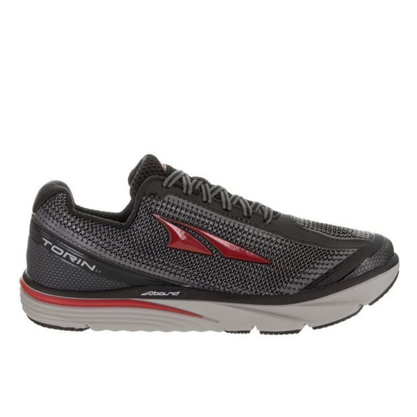 Picture of ALTRA ROAD RUNNING SHOES TORIN 3.0 BLACK/RED FOR MEN