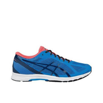 Picture of ASICS ROAD RUNNING SHOES GEL-DS RACER 11 BLUE/CORAL FOR MEN