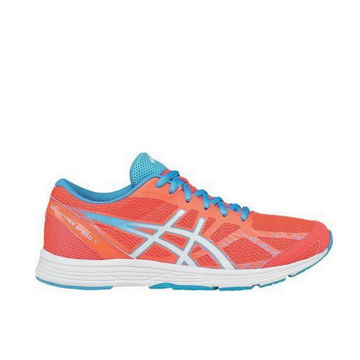 Image de SOULIERS DE COURSE SUR ROUTE ASICS GEL-HYPER SPEED 7 ORANGE POUR FEMME