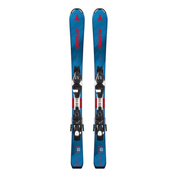 Picture of ATOMIC ALPINE SKIS VANTAGE JR BLUE/RED 2019 FOR JUNIORS (WITH BINDINGS)