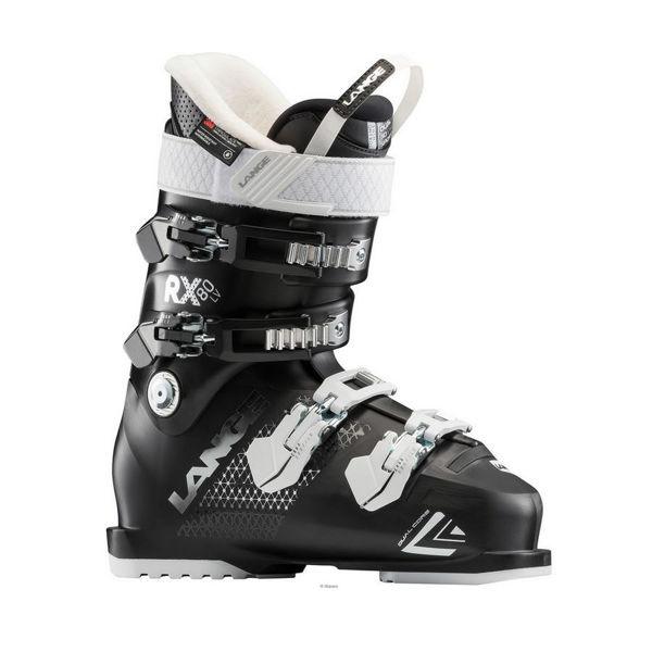 Picture of LANGE APLINE SKI BOOTS RX 80 BLACK FOR WOMEN