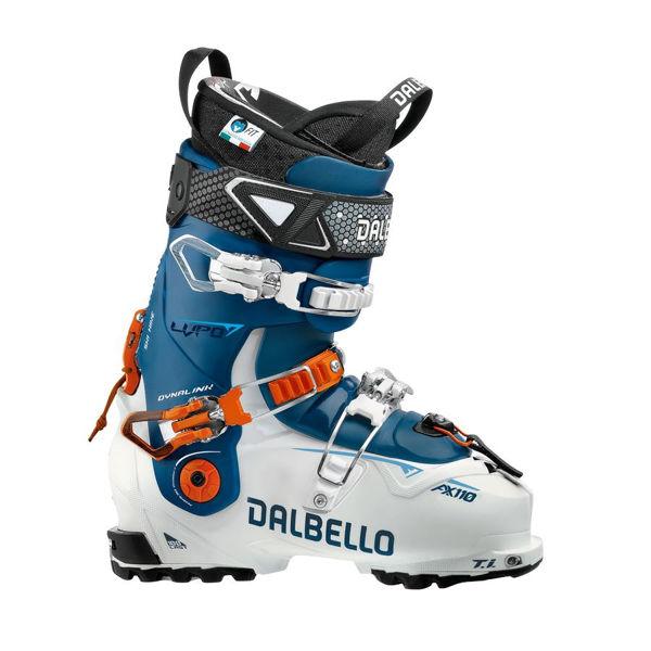 Picture of DALBELLO APLINE SKI BOOTS LUPO AX 110 W BLUE/WHITE FOR WOMEN