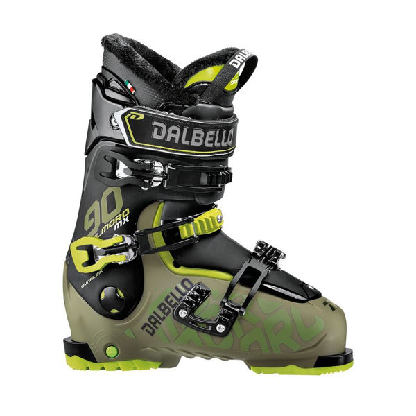 Picture of DALBELLO APLINE SKI BOOTS IL MORO MX 90 BLACK/GREEN FOR MEN