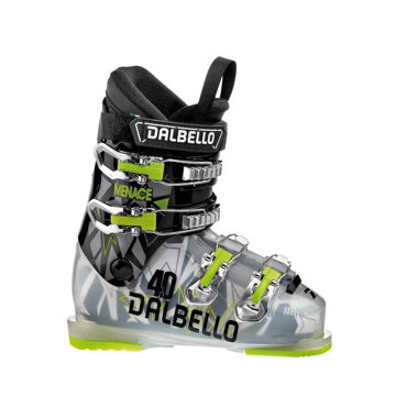 Picture of DALBELLO APLINE SKI BOOTS MENACE 4.0 BLACK/GREEN FOR JUNIORS