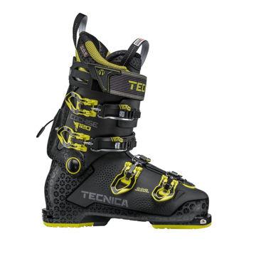 Picture of TECNICA APLINE SKI BOOTS COCHISE 120 DYN BLACK/YELLOW FOR MEN
