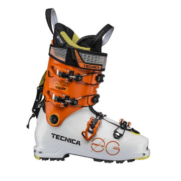 Picture of TECNICA APLINE SKI BOOTS ZERO G TOUR WHITE/ORANGE FOR MEN