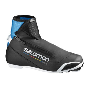 Picture of SALOMON CROSS COUNTRY SKI BOOTS RC PROLINK BLACK/BLUE FOR MEN