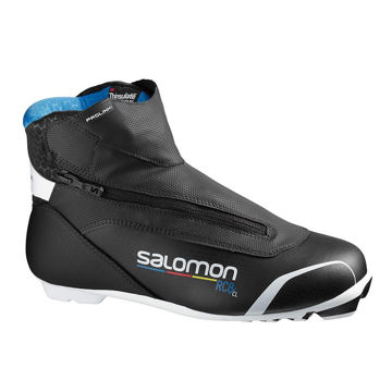 Picture of SALOMON CROSS COUNTRY SKI BOOTS RC8 PROLINK BLACK/BLUE FOR MEN