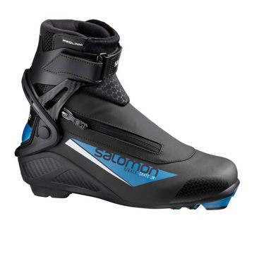 Picture of SALOMON CROSS COUNTRY SKI BOOTS S/RACE SKATE PROLINK JR BLACK/BLUE FOR JUNIORS