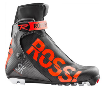Picture of ROSSIGNOL CROSS COUNTRY SKI BOOTS X-IUM W.C. SKATE BLACK/RED FOR MEN