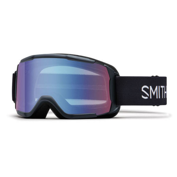 Picture of SMITH ALPINE SKI GOGGLES DAREDEVIL JR W/ BLUE SENSOR MIRROR BLACK FOR JUNIORS