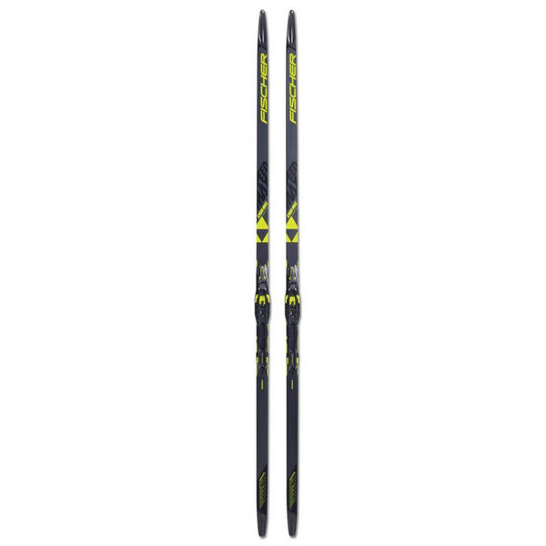 Picture of FISCHER CROSS COUNTRY SKIS SPEEDMAX CLASSIC COLD MEDIUM IFP NOIR/JAUNE FOR ADULTS(W/M)