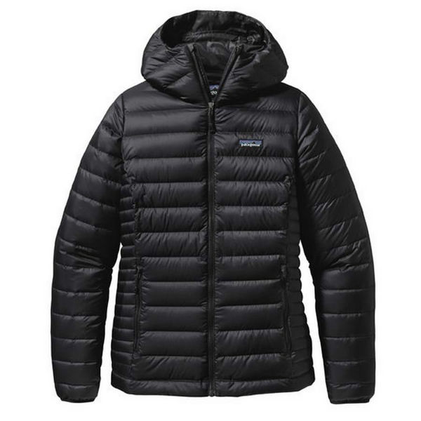 Picture of PATAGONIA ALPINE SKI JACKETS DOWN SWEATER HOODY BLACK FOR WOMEN