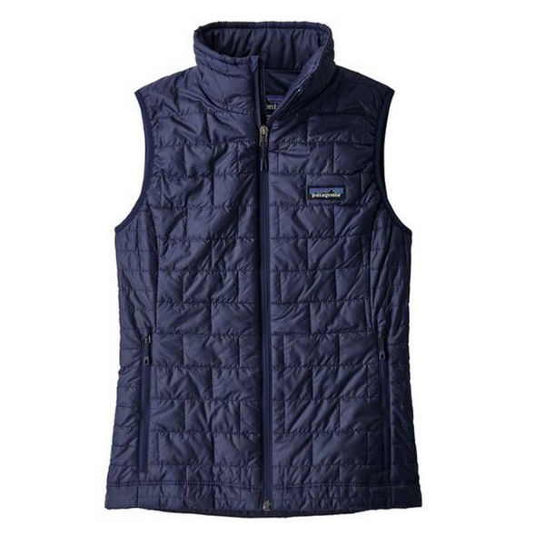 Picture of PATAGONIA ALPINE SKI JACKETS NANO PUFF VEST BLUE FOR WOMEN