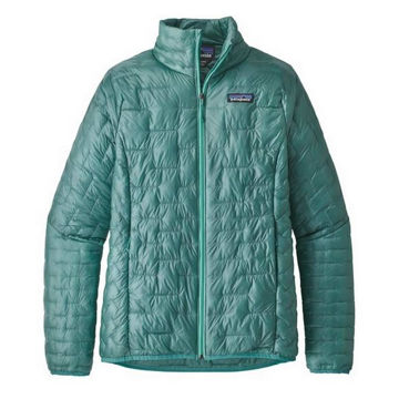 Picture of PATAGONIA ALPINE SKI JACKETS MICRO PUFF JACKET GREEN FOR WOMEN
