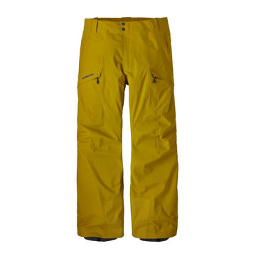 Picture of PATAGONIA ALPINE SKI PANT UNTRACKED PANTS YELLOW FOR MEN