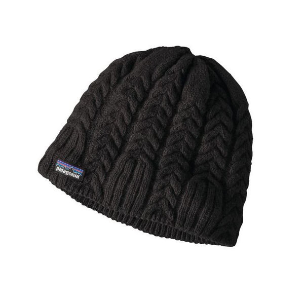 Picture of PATAGONIA HAT CABLE BEANIE BLACK FOR WOMEN