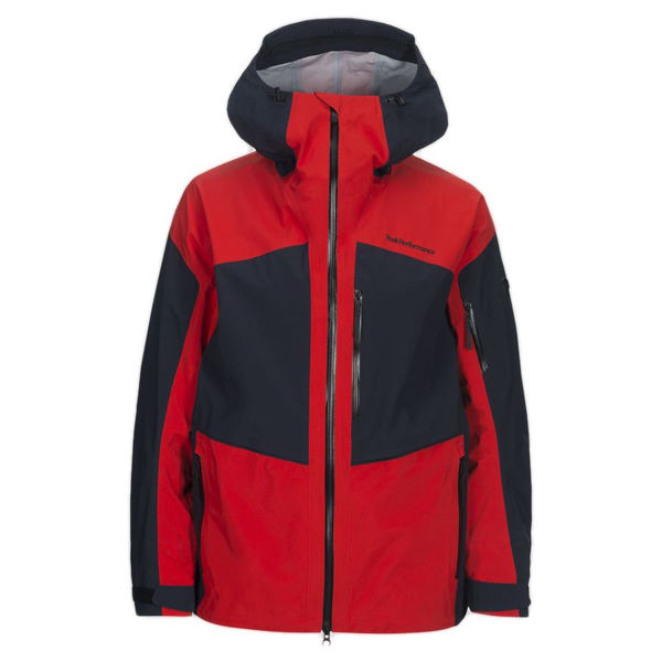huge selection of 6e852 08b12 PEAK PERFORMANCE ALPINE SKI JACKET GRAVITY GORE-TEX RED/BLUE FOR MEN