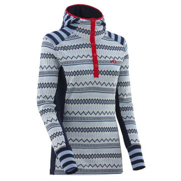 Picture of KARI TRAA ALPINE SKI SWEATERS AKLE HOOD NAVAL FOR WOMEN