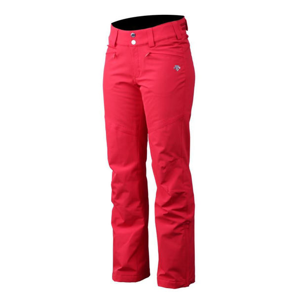 Performance Bégin - PANTALON DE SKI ALPIN DESCENTE GWEN ROUGE POUR FEMME 590fd81ed14