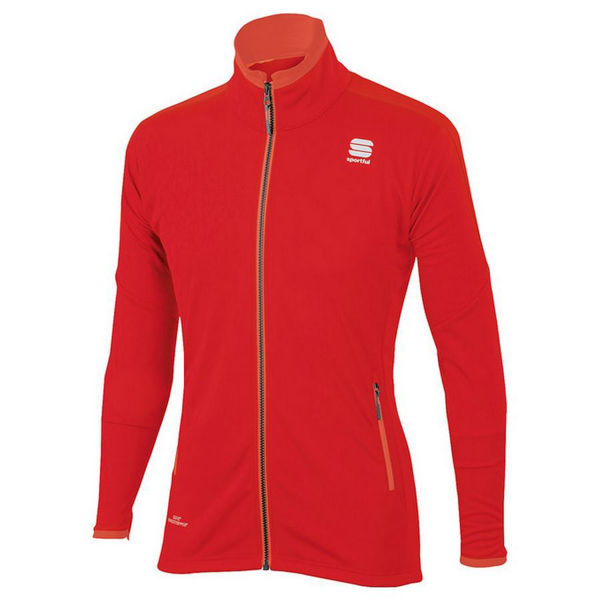 Picture of SPORTFUL CROSS COUNTRY SKI JACKET SQUADRA WIND STOPPER RED FOR MEN