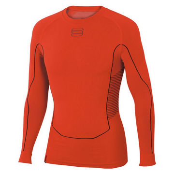 Picture of SPORTFUL CROSS COUNTRY SKI SWEATER 2ND SKIN LS RED FOR MEN