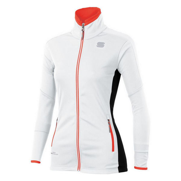 Picture of SPORTFUL CROSS COUNTRY SKI JACKET SQUADRA WHITE/BLACK FOR WOMEN