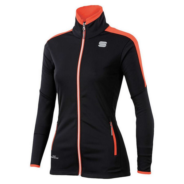 Picture of SPORTFUL CROSS COUNTRY SKI JACKET SQUADRA BLACK/CORAL FOR WOMEN