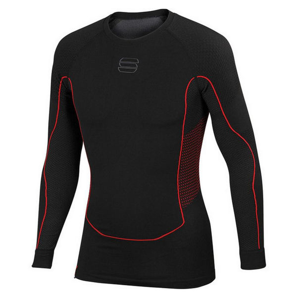 Picture of SPORTFUL CROSS COUNTRY SKI SWEATER 2ND SKIN LS BLACK FOR MEN