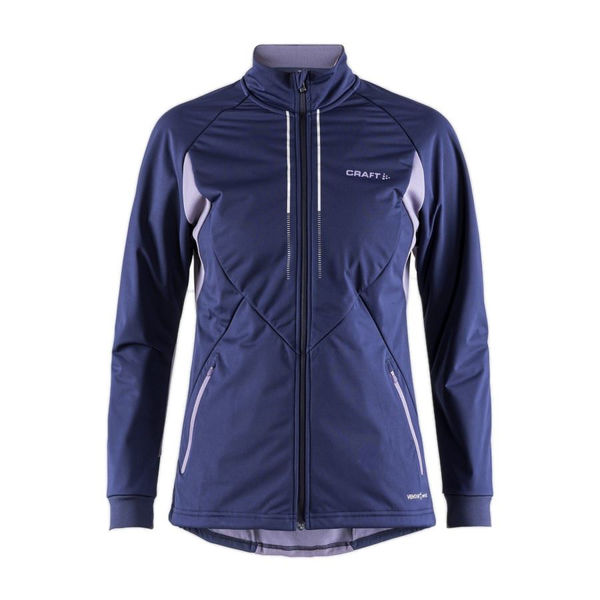 Picture of CRAFT CROSS COUNTRY SKI JACKET STORM 2.0 MARITIME FOR WOMEN