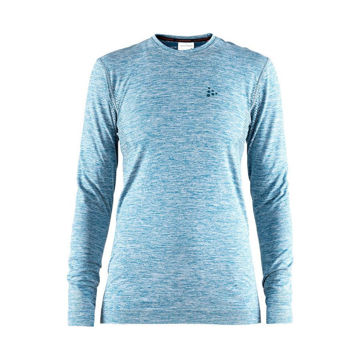 Picture of CRAFT CROSS COUNTRY SKI SWEATER WARM COMFORT LS BLUE FOR WOMEN