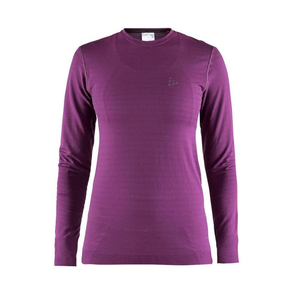 Picture of CRAFT CROSS COUNTRY SKI SWEATER WARM COMFORT LS PURPLE FOR WOMEN